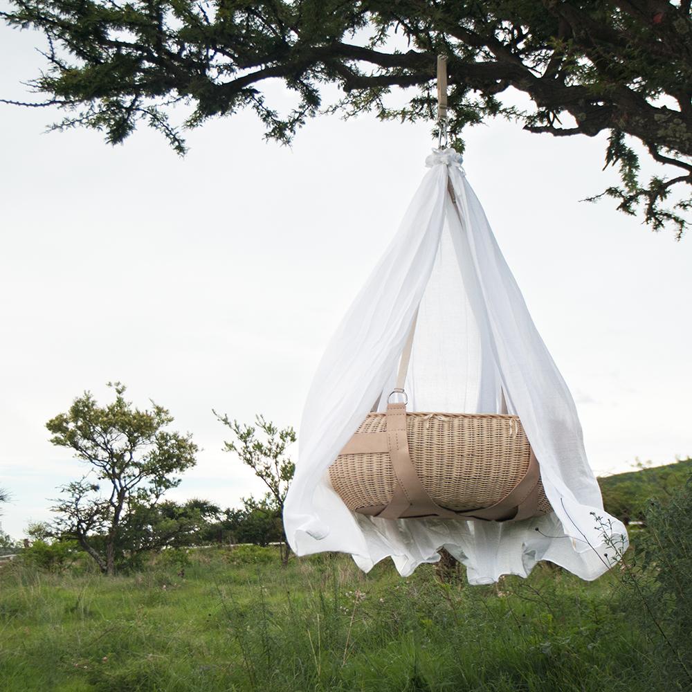 Mois s nido colgante nido muebles - Sabanas moises mimbre ...