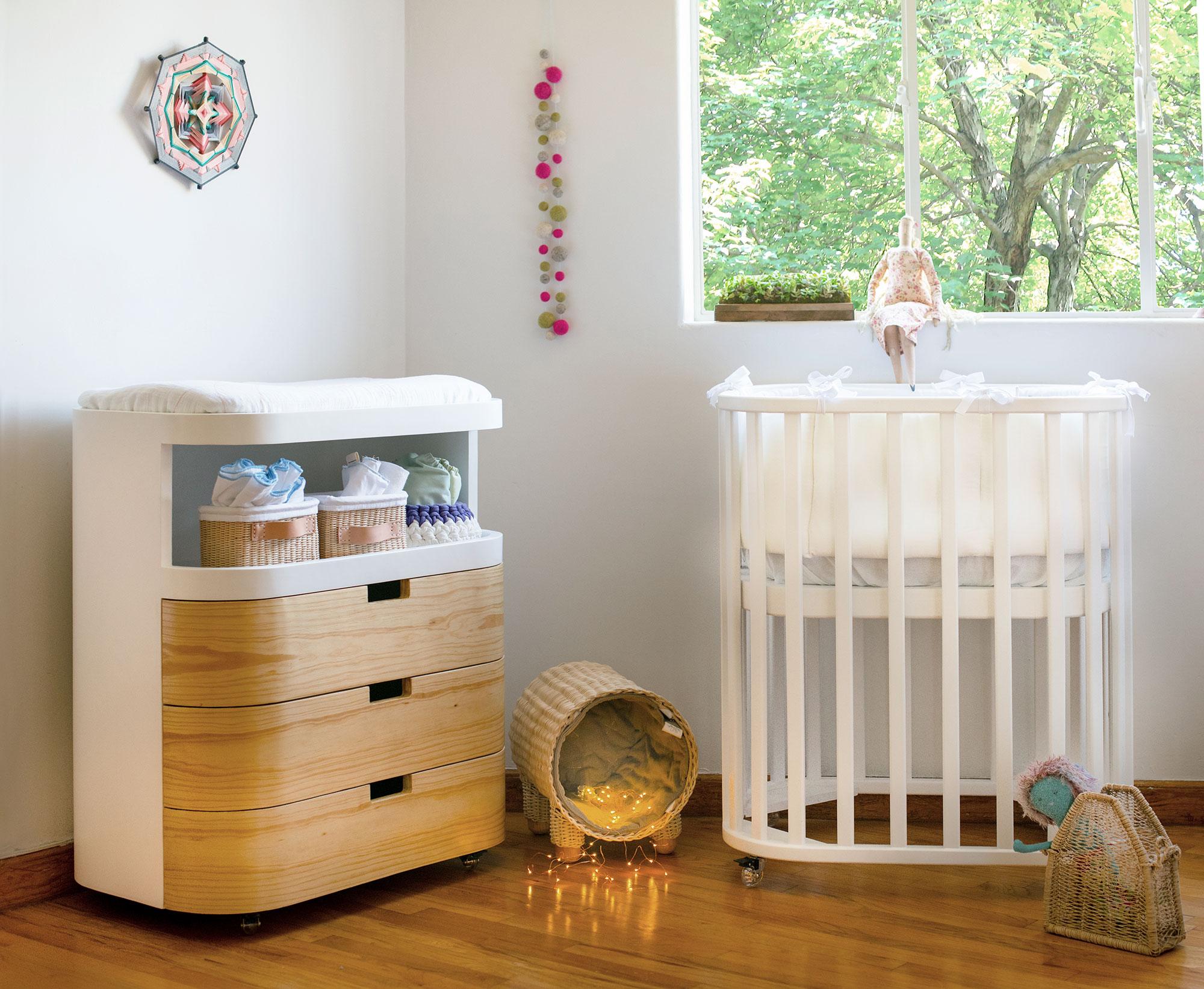¿Cómo elegir los muebles para el cuarto del bebé?